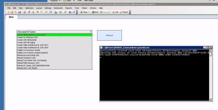 Qlikview Reloader